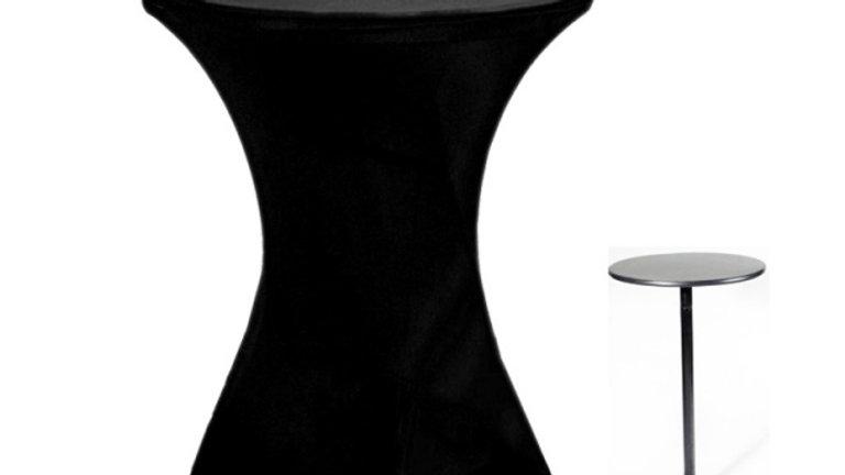 Spandex Highboy Table Cloth (black)