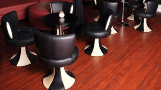 Black & White Art Deco Leather chairs