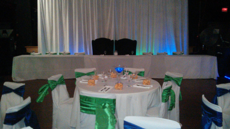 Banquet Chair Covers (with Colour Sash)