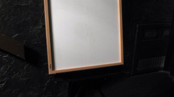 Easel and Whiteboard