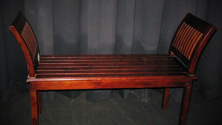 Dickens Wooden Bench