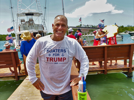 TRUMPFEST 2020 On Alfie Oakes Island... WHAT?