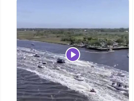 Jacksonville FL: June 14 Trump's Birthday, over 1,000 boats... see all the action here!