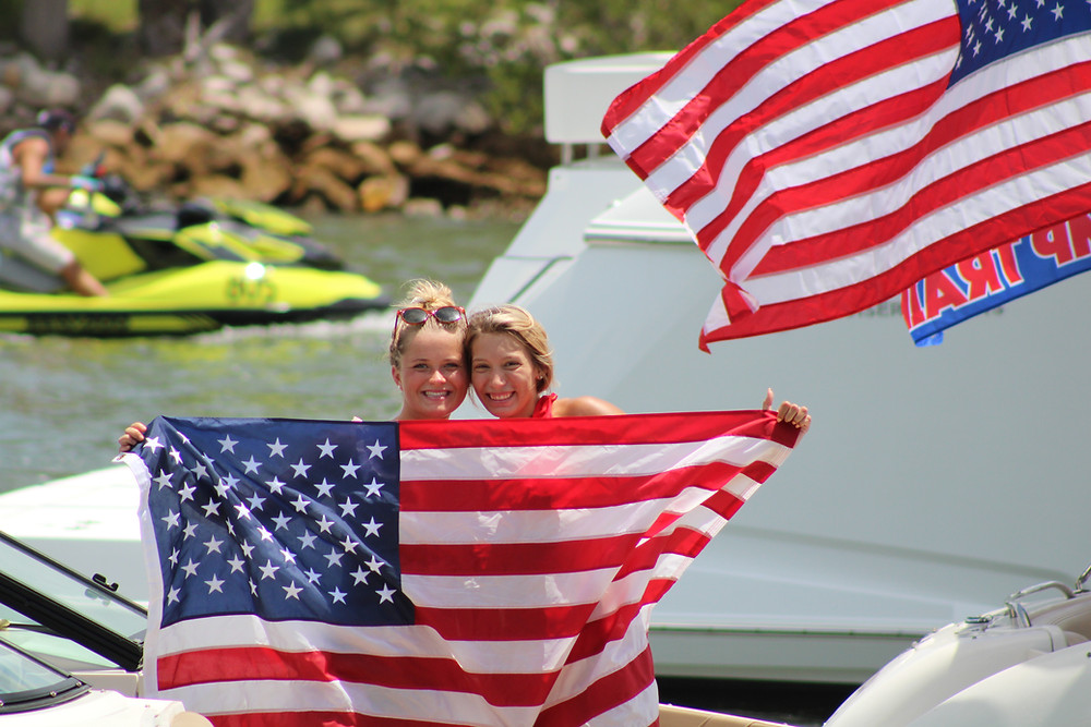 Trump Boat Parade Guinness World Record Patriotism