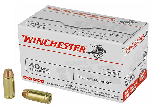 Winchester 40 S&W Bulk 500 Rounds