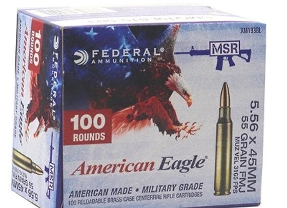 Federal AE 5.56mm 55gr Bulk 500rds
