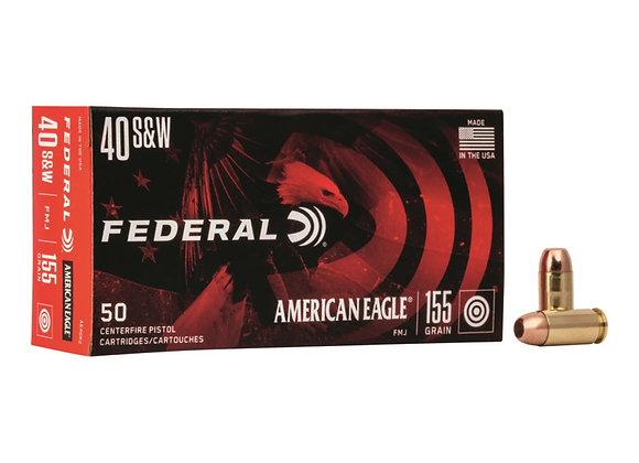 Federal AE 40 S&W Bulk 500 Rounds