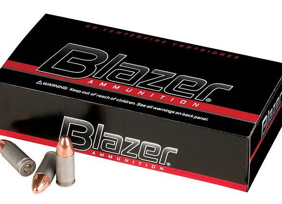 Blazer 9mm 115gr FMJ Aluminum, Bulk 1000 rounds