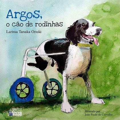 Argos, o cão de rodinhas