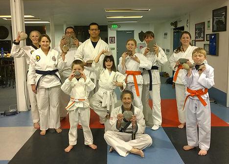 Tang Soo Do of Santa Fe rock-breaking clinic