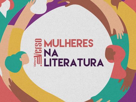 Evento Mulheres na Literatura acontecerá no dia 8 de março, na Casa Inverso!