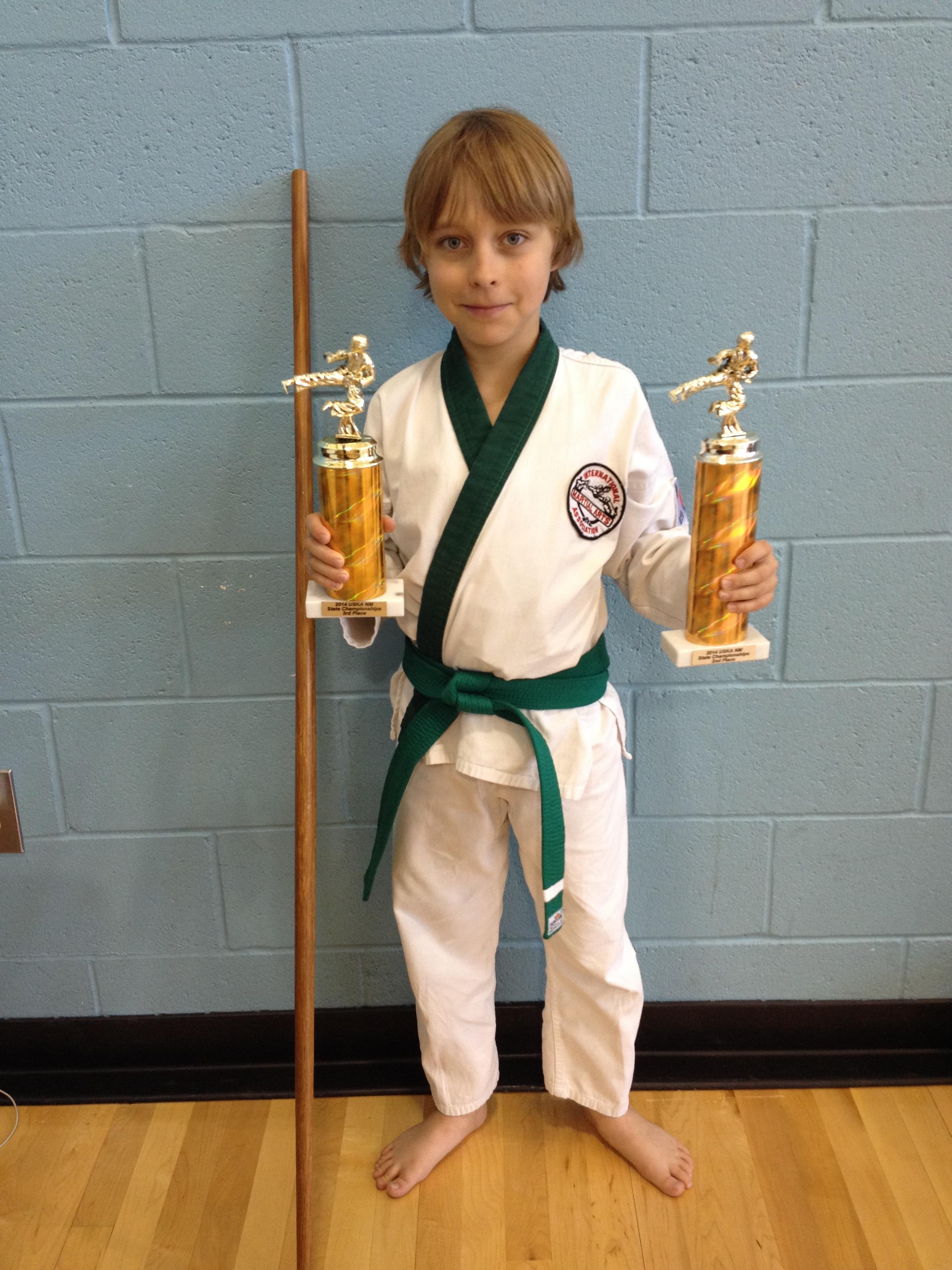 Martial arts champion