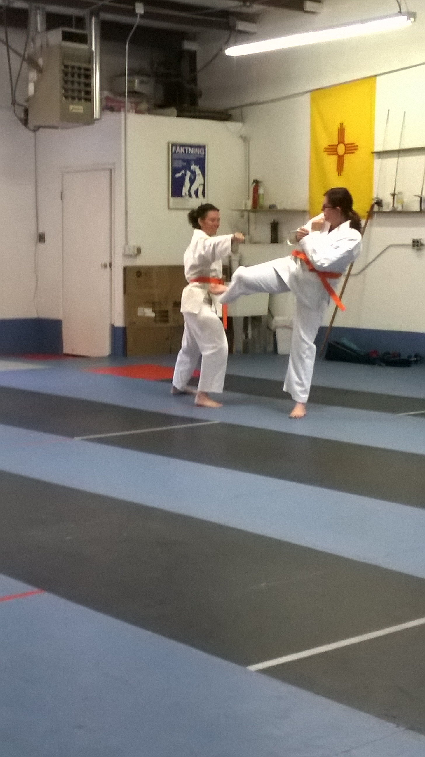 One-step sparring