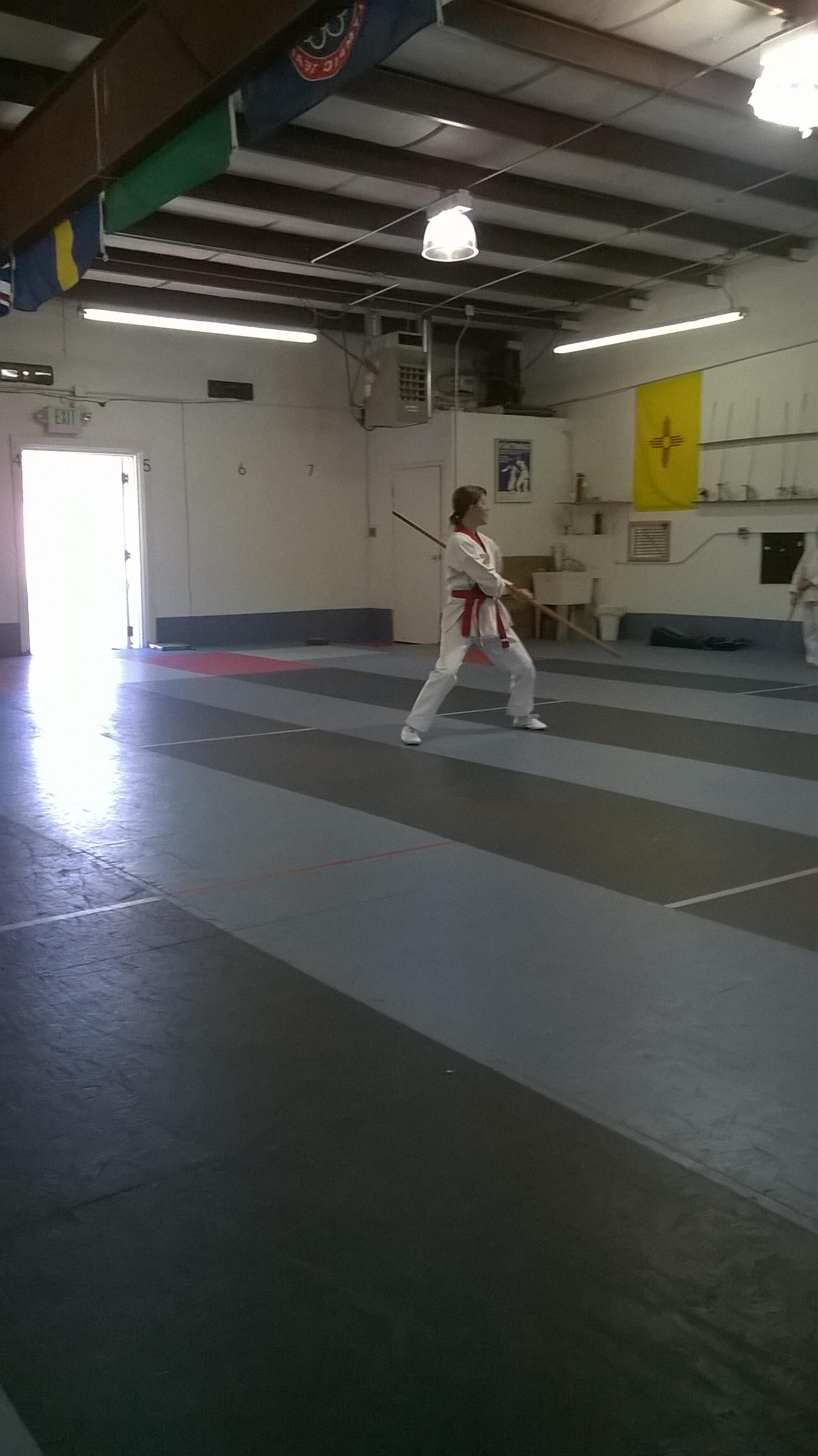 Bong form during belt test