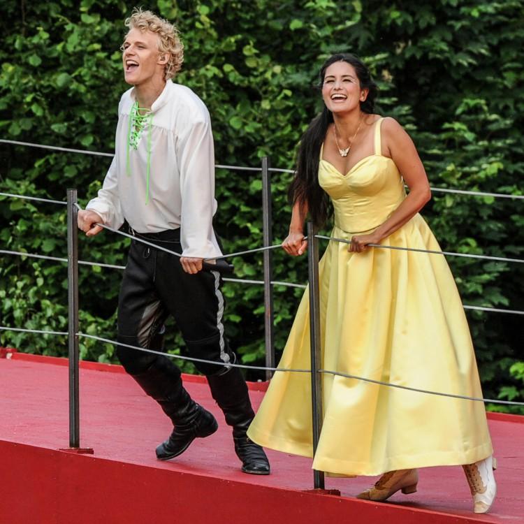 D'Artagnan mit Constance