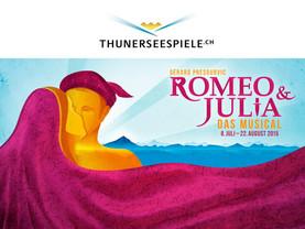 "Benvolio und Romeo bei ""Romeo&Julie"" - Thuner Seespiele"