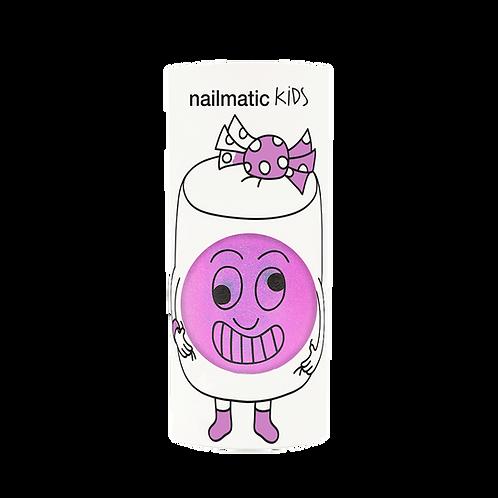 Vernis enfant base eau - Marshi - lilas néon nacré-Nailmatics KIDS