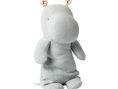 Doudou Hippo Gris/Bleu Maileg