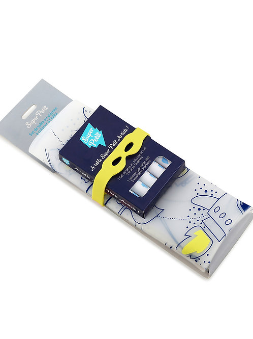 KIT SUPER HÉRO – BRACELET JAUNE