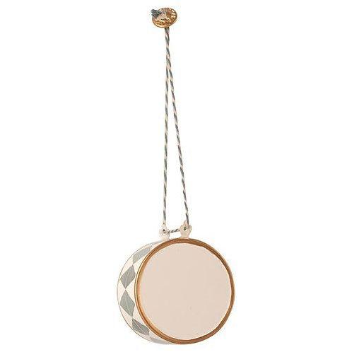 Décoration de Noël - Maileg - Grand tambour - Bleu