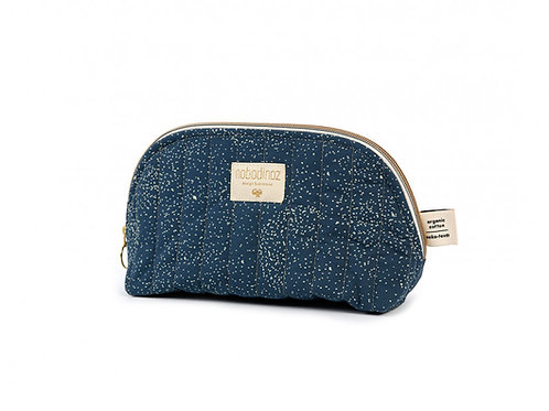 Trousse de toilette Holiday gold bubble night blue