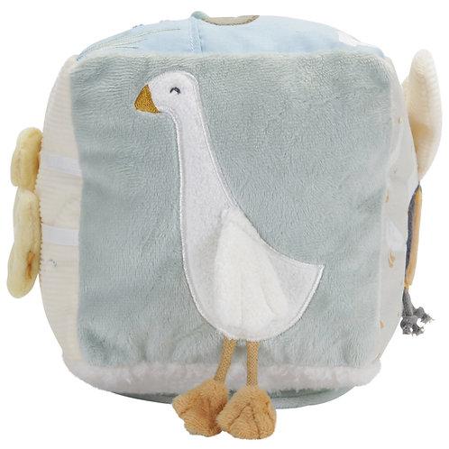Cube d'activités Soft Little Goose Little Dutch