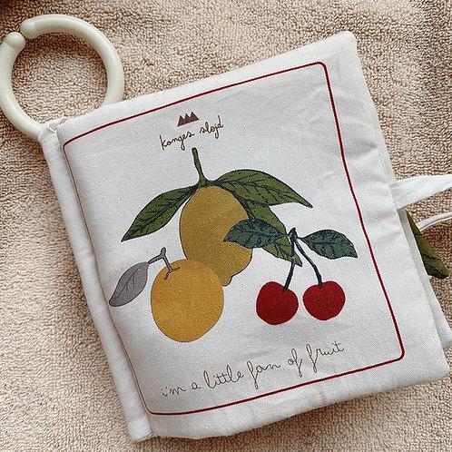Livre d'éveil fruit-KONGES SLØJD