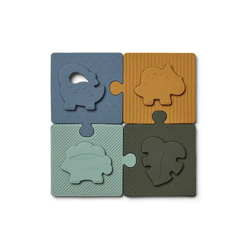 PUZZLE BODIL DINO BLUE MULTI MIX-Liewood