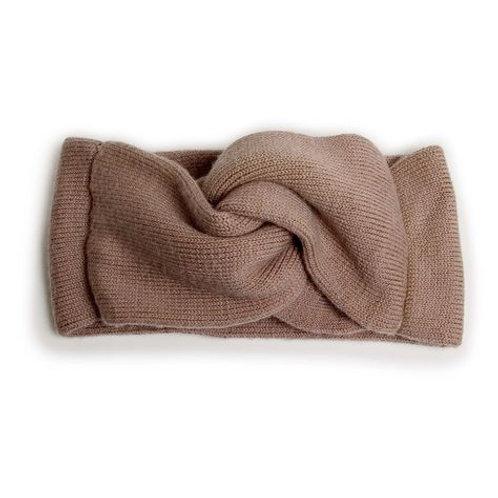 Laure - Bandeau en laine Mérinos - Praline de Lyon -Collegien