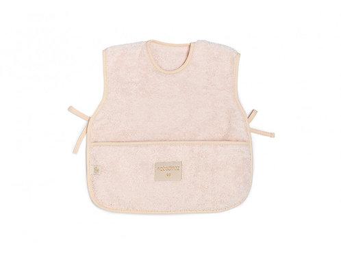 Bavoir tablier So Cute 6-18M pink-Nobodinoz