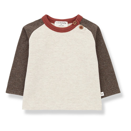 T-shirt Guim Gris taupe- 1 + in the Family