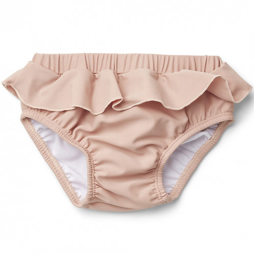 Maillot de bain culotte anti-UV Laura rose poudré-Liewood