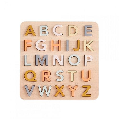 Puzzle alphabet ABC - Multicolore Kids Concept