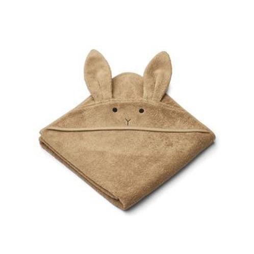 Cape de bain Dino Rabbit oat 100x100 Liewood