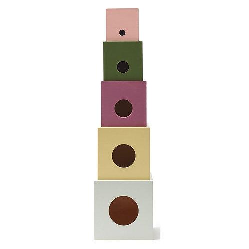 Cubes en Bois Edvin-Kids Concept
