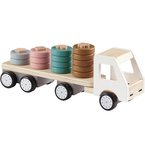 Camion avec anneaux en bois Aiden Kid's Concept