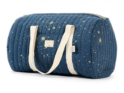Sac week-end New York gold stella night blue-Nobodinoz