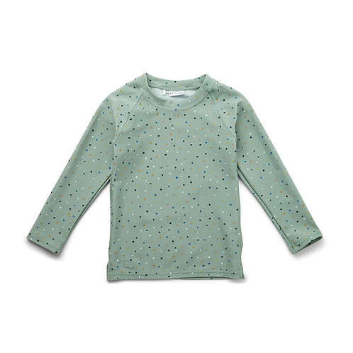 T-shirt anti UV-Confetti Peppermint-Liewood