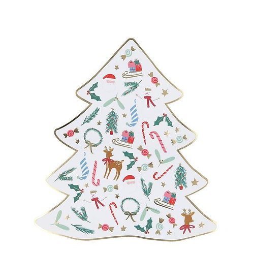 5 Planches de Minis Stickers Noël-Meri Meri