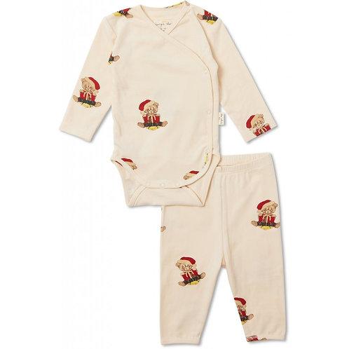 Pyjamas-Teddy-nouveau né et bébé-Konges Sløjd