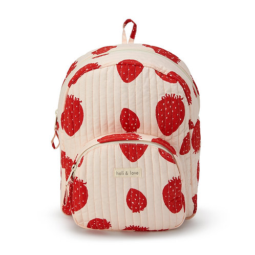 SAC À DOS KIDS - PINK STRAWBERRY-Holi and Love