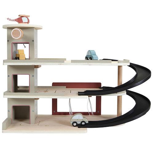 Garage en bois + figurines Little Dutch