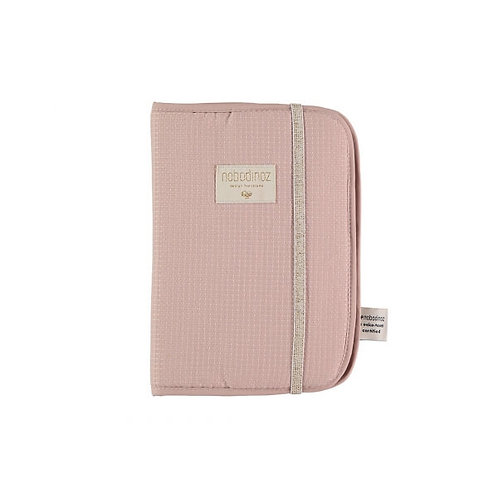 Protège carnet de santé Poema misty pink