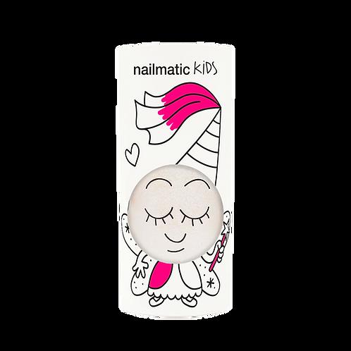 Vernis enfant base eau - Zouzou - blanc ultra nacré-Nailmatics KIDS