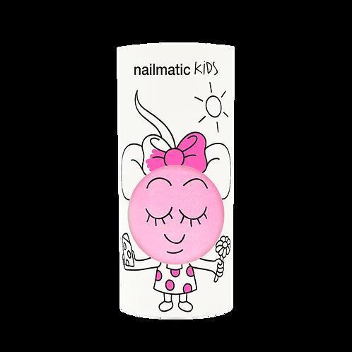 Vernis enfant base eau - Dolly - rose néon nacré-Nailmatics KIDS