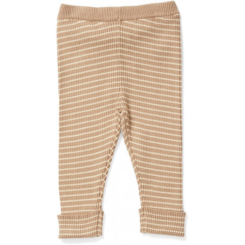 Pantalon en coton bio moonlight/white-Konges Slojd