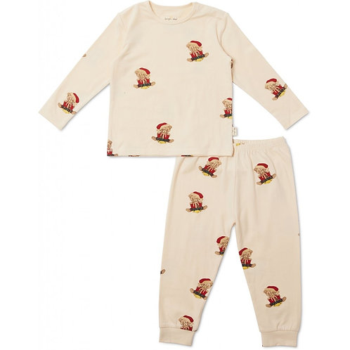 Pyjama Noël-Teddy-2 pièces-Konges Sløjd