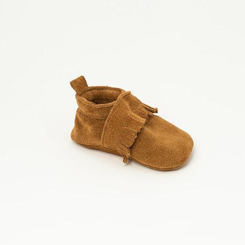 Chaussures bébé Slipper | Maxence Cognac