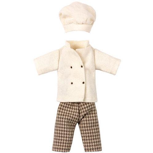 Papa Souris - La tenue de Cuisinier MAILEG