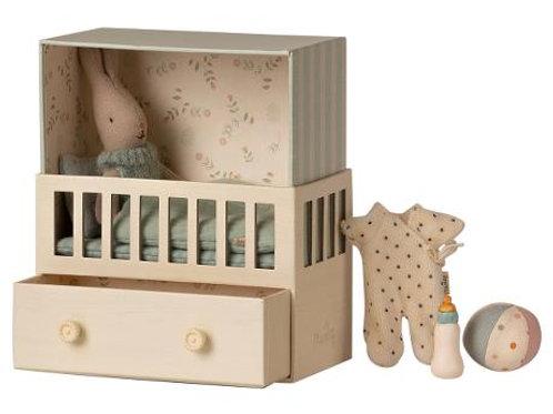 Chambre bébé Lapin Bleu-Maileg